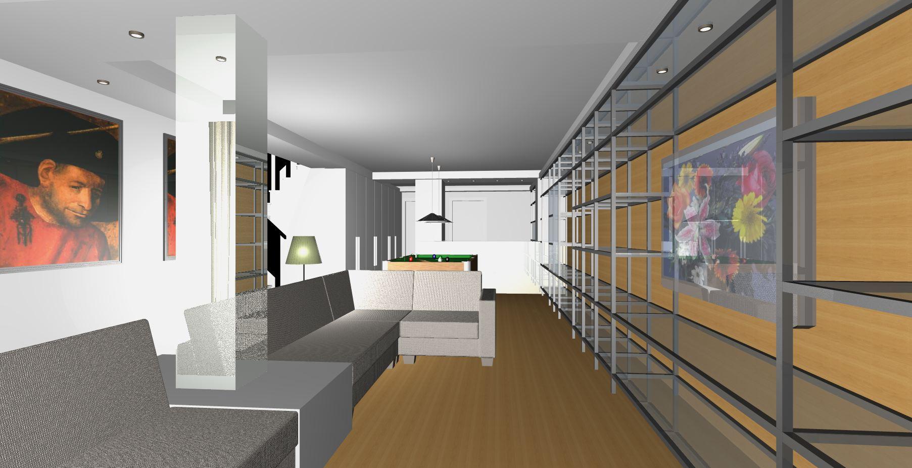 Render proyecto dise o de interiores enjoy living - Diseno de interiores malaga ...